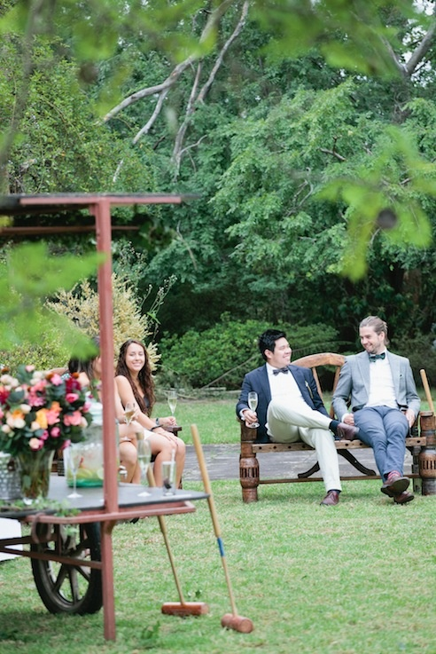 Include a game of croquet in your wedding day festivities?