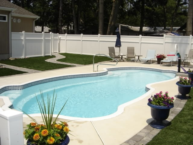 Pool Lined With Pavers And Artificial Turf Ideas For The