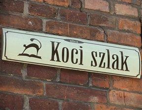 Poland, Łódź, Cat Trail Street (Polish: ul. Koci szlak)