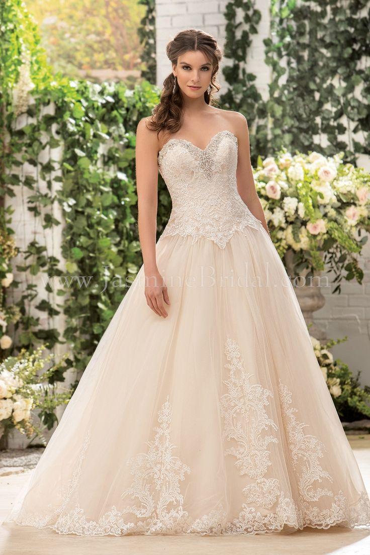 Bridal water lily 2226 wedding dresses photos brides com - Jasmine Bridal