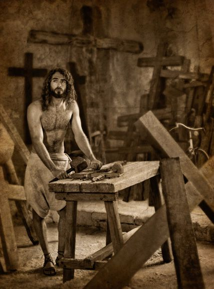 One of my favorites by Michael Belk-Jesus the Jewish Carpenter!