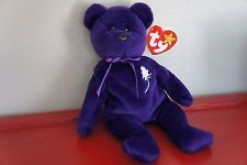 Rare Princess Diana Ty Beanie Baby 1st Edition Perfect Condition! Reduced Price!