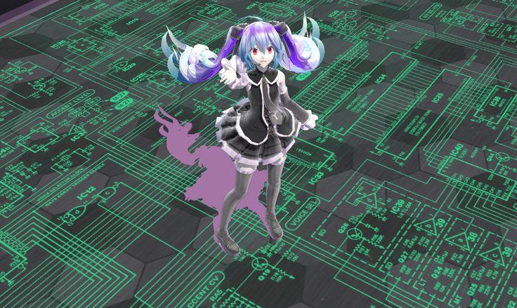Hatsune Miku ciber   #anime #animegirl #animeboy #vocaloid #hatsunemiku