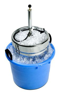 how to keep kegs cold overnight