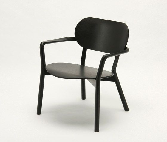 Castor Low Chair by Karimoku New Standard | Lounge chairs