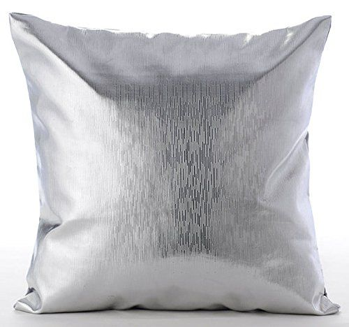 Designer Silver Pillows Cover, Modern Solid Pillow Cover,... https://www.amazon.com/dp/B016H8YS2O/ref=cm_sw_r_pi_dp_x_Pb39xbGY76JMS