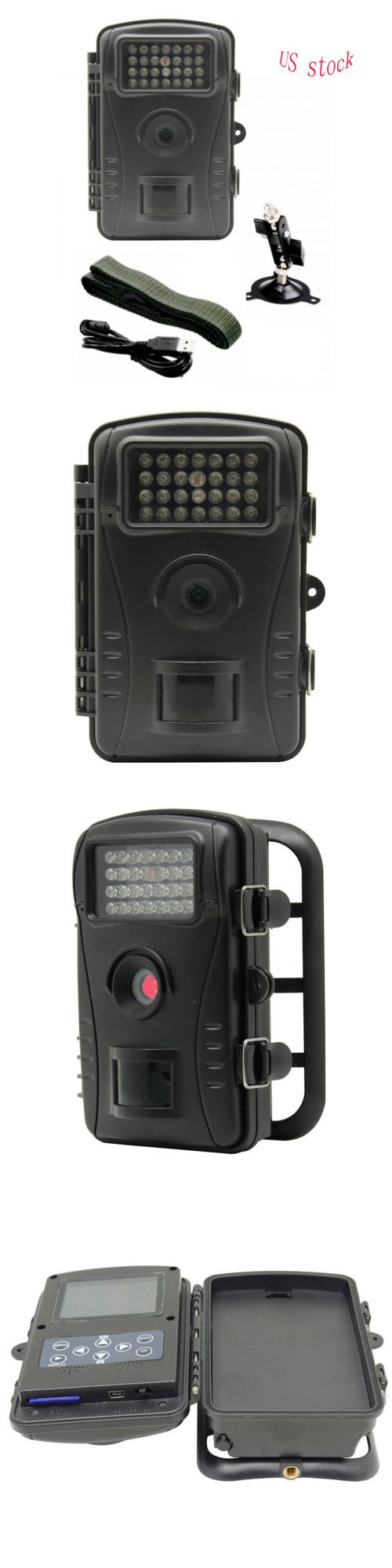 Other Vintage Electronics: 70°Wide Angle 26 Pcs Ir Leds 720P Waterproof Pir Hunting Trail Camera Wildlife -> BUY IT NOW ONLY: $59.39 on eBay!