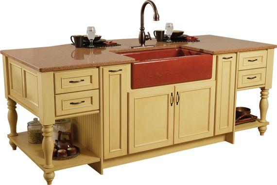 Kitchens Island Only ~ Best ideas about red kitchen island on pinterest