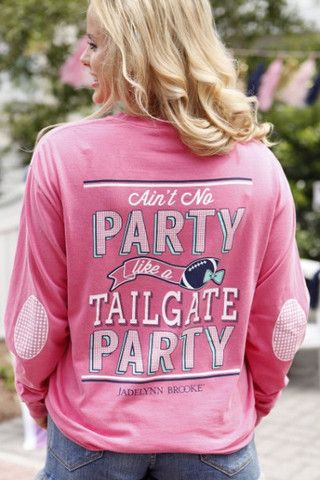 Ain't No Party Like A Tailgate Party - Long Sleeve