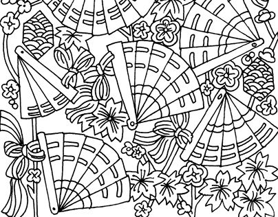 """Check out new work on my @Behance portfolio: """"Colouring illustrations for adults. Mandalas."""" http://on.be.net/1LQmCNo"""