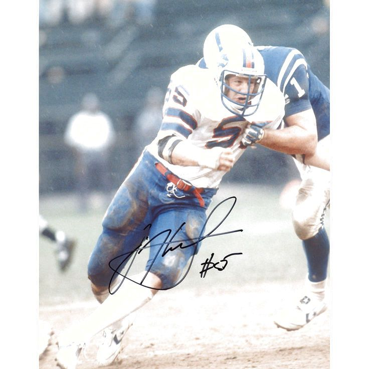 """Jim Haslett Buffalo Bills Fanatics Authentic Autographed 8"""" x 10"""" vs. Indianapolis Colts Fighting Tackle Photograph - $9.49"""