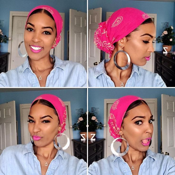 #Repost @itszitarose ・・・ Y'all know me, I love my head wraps! 👳🏾… – Curly hair