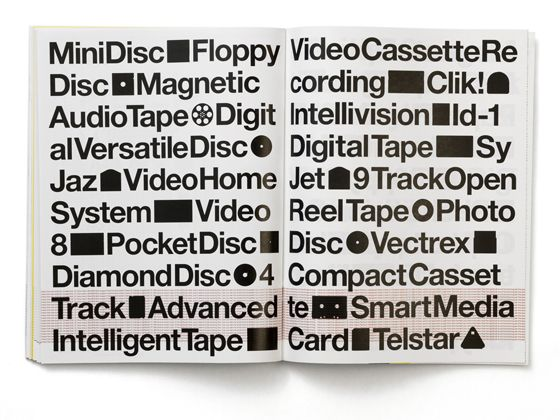 Lost Formats Preservation Society - Emigre 57 by Experimental Jetset