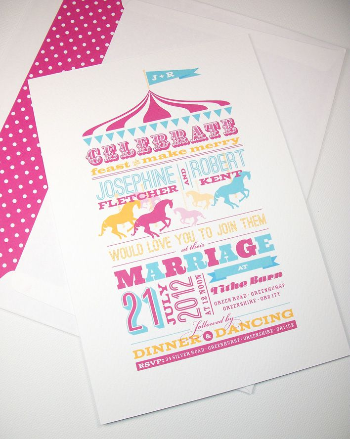 Prettywild Stationery Design for Festival Style Weddings