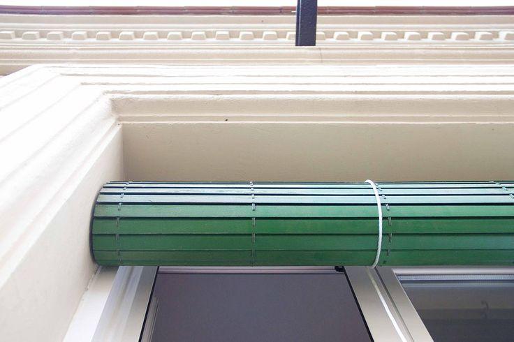Facade at La Barceloneta (Barcelona) by Carles Coll & Berta Coll  #CarlesColl #BertaColl #arquitectura #architecture #interior #decoracion #interiorismo #bedroom #decoration #rehabilitacion #rehabilitacio #facade #fachada #façana #barcelona #barceloneta