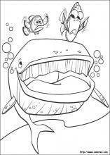 Finding Nemo Coloring Pages On Book