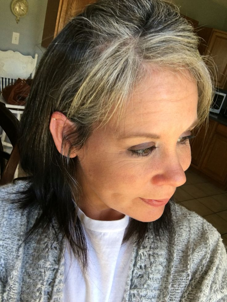 459 best images about growing out gray discovering silver on pinterest hair dos long gray - Ways prevent grey hair ...