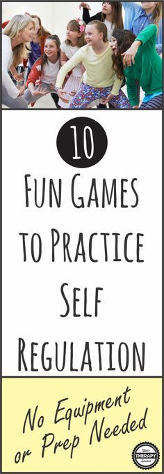 10 FUN Games practice self regulation skills in children - the games require no equipment or preparation. They make great brain breaks too!