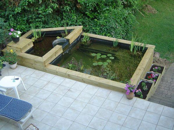 Aménagement autour du bassin - Le blog de bassin-de-jardin.over ...