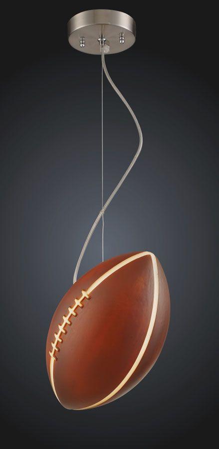 Football ceiling lamp