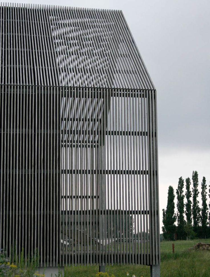 59 besten holzfassade bilder auf pinterest architekten - Wandgestaltung buro ...