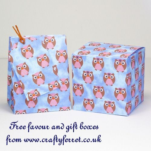 17 best images about owls on pinterest owl box owl for Owl pillow box template
