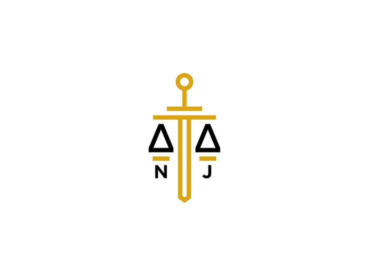 National Justice by Danijel Stamenic #law #logo #justice #sword
