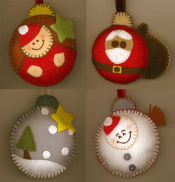 Handmade Christmas Ornaments 2015 | www.tallwavehightide.com