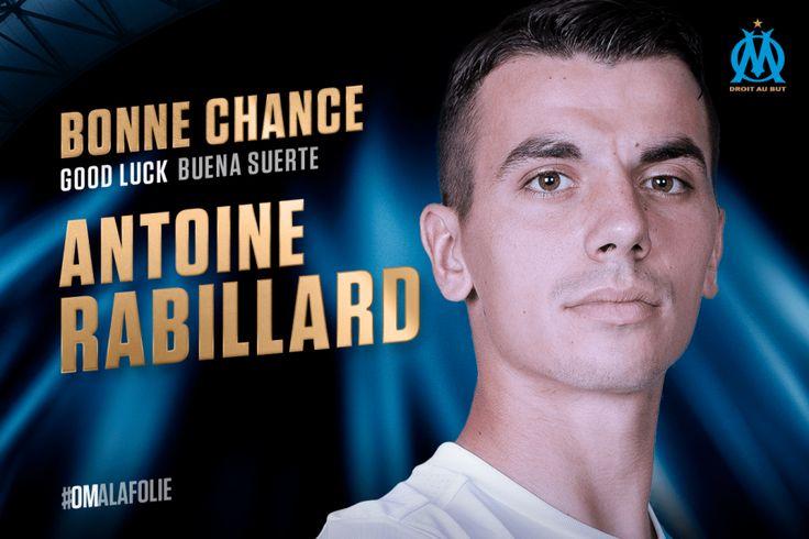 L'ensemble de l'Olympique de Marseille le remercie pour ce qu'il a fait au club et lui souhaite bonne chance pour la suite.