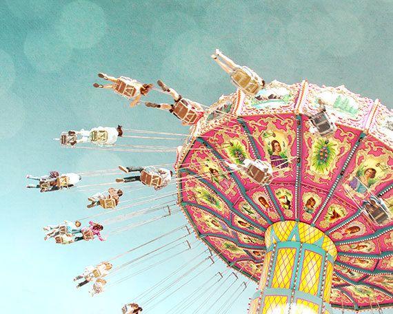 Swing Ride by Zila Longenecker