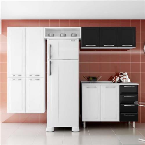 Cozinha Compacta Itatiaia Anita Smart com 3 Peças