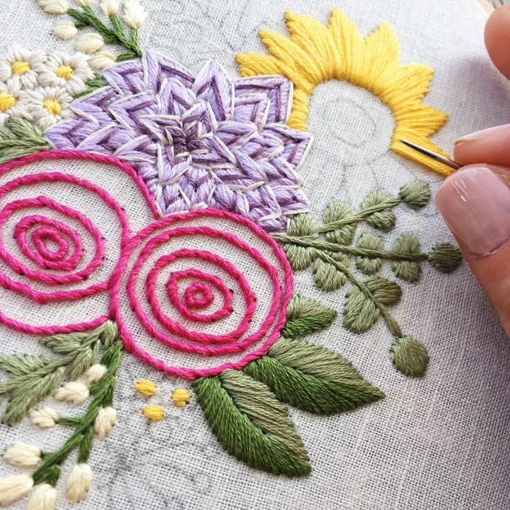 Best 498 Hand Embroidery Images On Pinterest Diy And Crafts