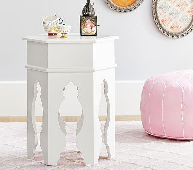 moroccan side table from pottery barn kids $150