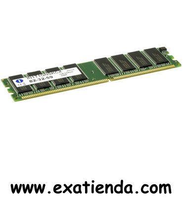 Ya disponible Ddr integral 1gb/400    (por sólo 29.95 € IVA incluído):   -Tecnología: DDR 1GB -Factor de forma: DIMM -Pins: 184 -Voltaje: 2.5v -Corrección de errores: no ECC -Buffer:  Sin memoria intermedia -Latencia CAS (Ciclos): 3 -Tipo: PC3200 -Velocidad: 400 Mhz  -P/N: IN1T1GNSKCI        Garantía de 24 meses.  http://www.exabyteinformatica.com/tienda/357-ddr-integral-1gb-400 #ddr #exabyteinformatica