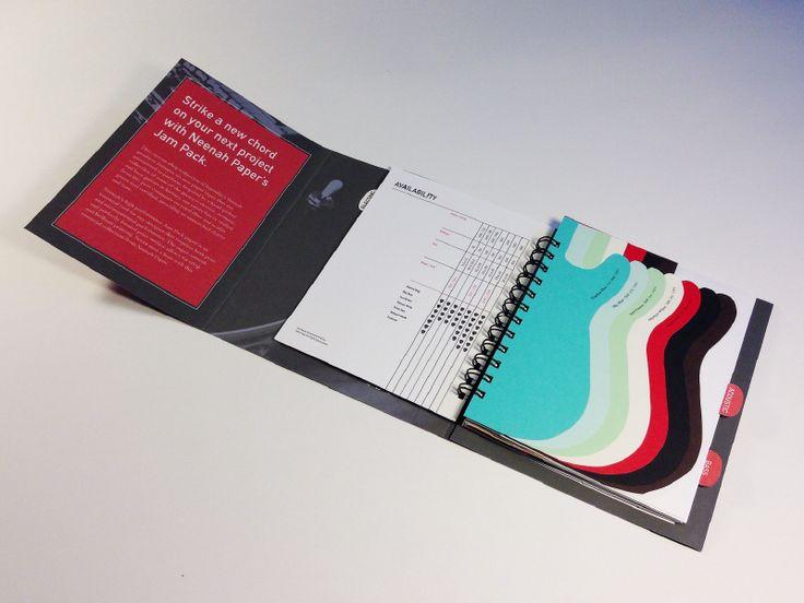 Wrap around spiral bound book