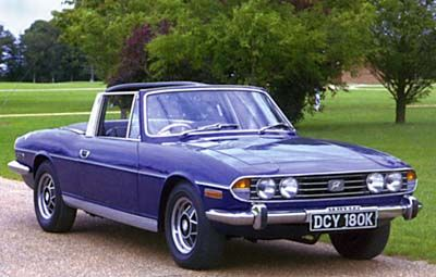 Triumph Stag - my 2nd car, quite the worst piece of engineering I ever owned, but still loved it