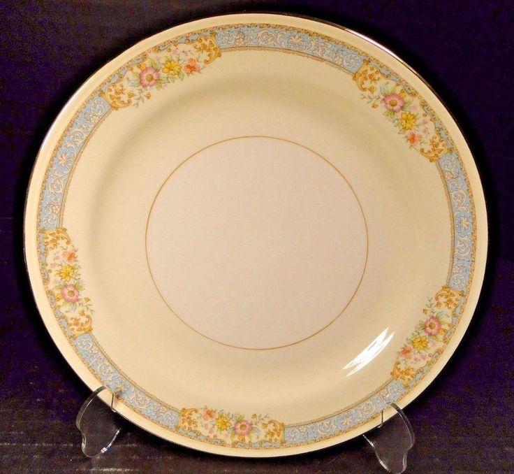 "Homer Laughlin Eggshell Nautilus Blue Dawn Dinner Plate 10"" EXCELLENT! #HomerLaughlin"