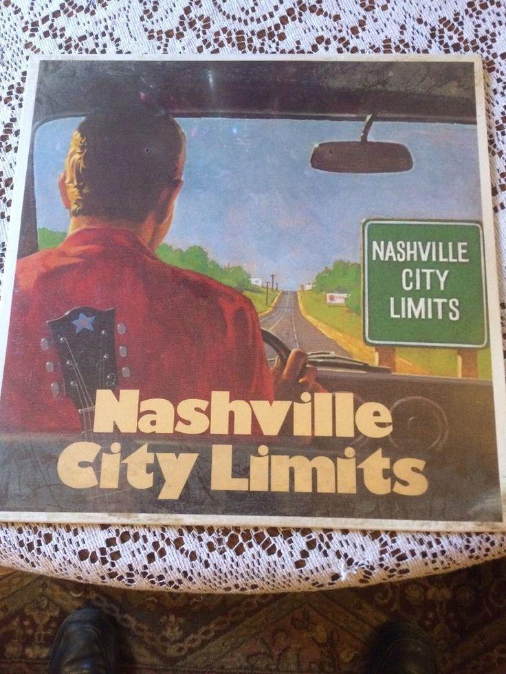 """Classic """"Nashville City Limits"""" Sealed LP  -Charlie Rich,Roy Clark, Sonny James #CountryPop"""