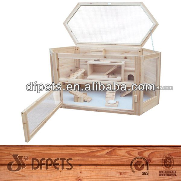 Dfpets Dfh002 Wooden Hamster Cage For Sale - Buy Hamster Cage,Wooden Hamster Cage,Hamster Cage For Sale Product on Alibaba.com