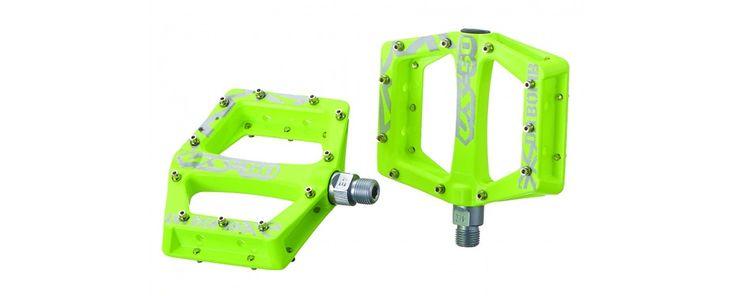 DaBomb V-50 MTB Pedal Set - Neon Yellow