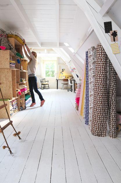 lovely studio in the attic