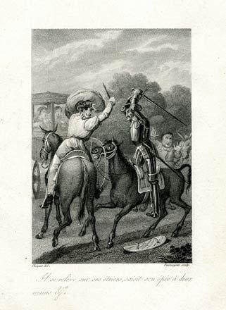 Сервантес. Дон Кихот. Гравюры 18 века. ПРОДАНО