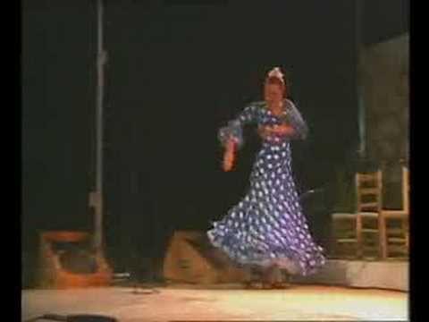 Baile por Alegrias de Cadiz de Ana Parrilla