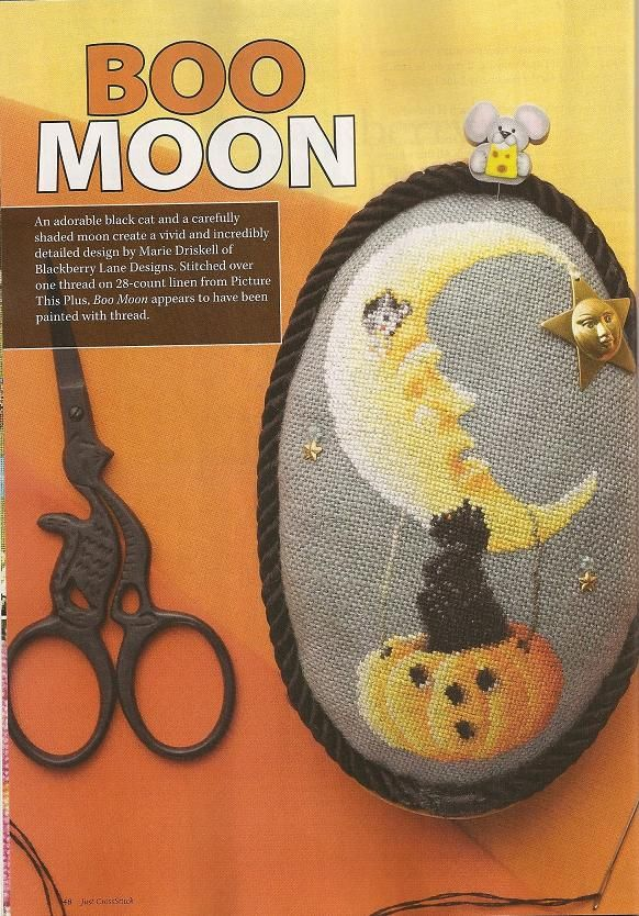 Boo Moon • 1/2 Project - this will be a lot of help as the chart is very faint