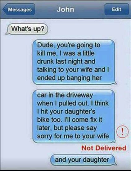 Lmao texting gone wrong
