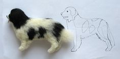Zubehör Breyer Basteltipps ~ needle felted dog how to and photos