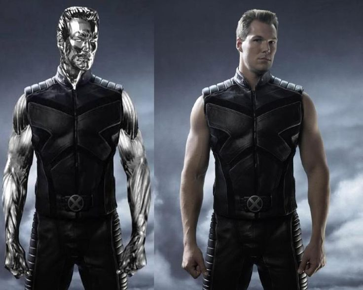 Actor Daniel Cudmore as Colossus from the new XMEN movie