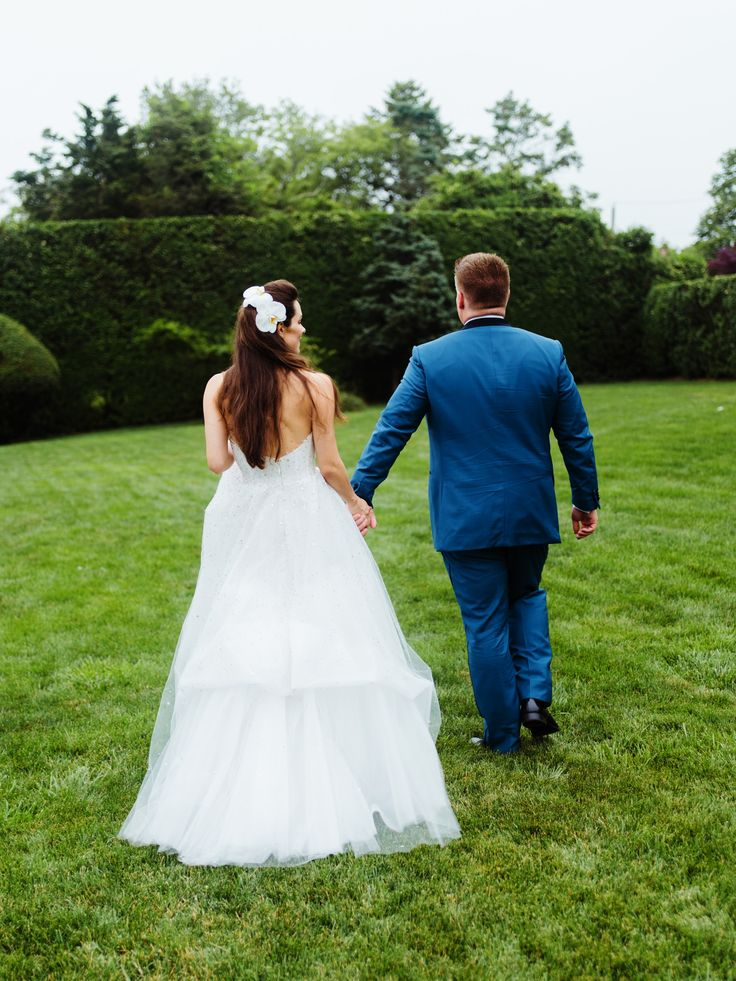 A Hamptons Wedding Full of Southern Charm