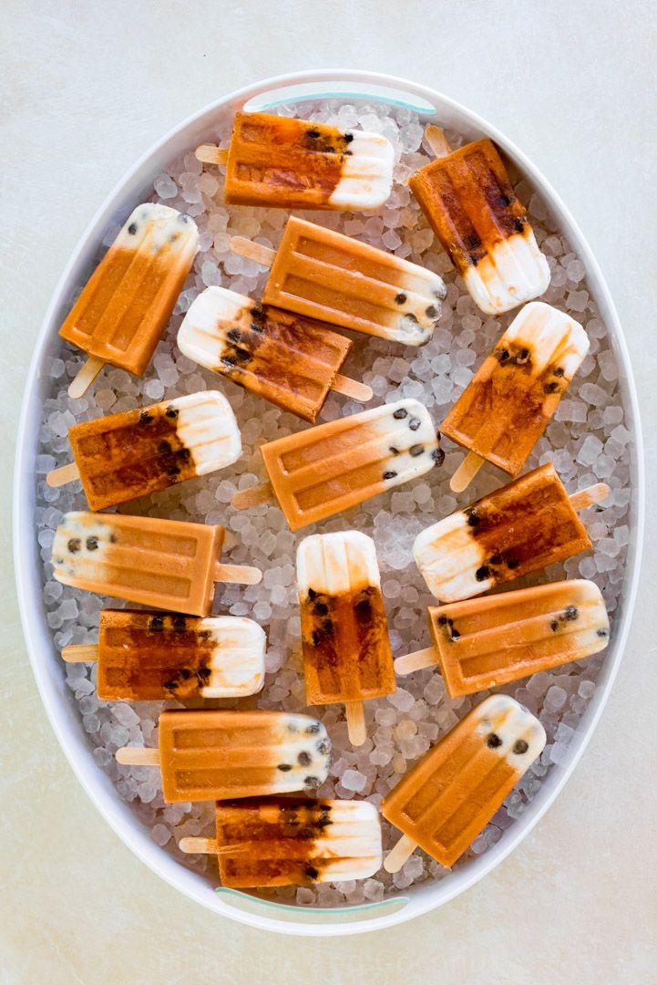 Boba Thai Iced Tea Popsicles via Pineapple and Coconut for Cost Plus World Market www.worldmarket.com #WorldMarket Global Gourmet Recipes