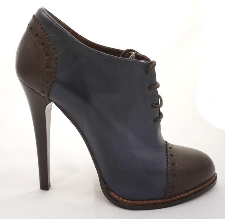 """Bagatt Leder Schuhe """"Blau/Braun"""" - König Kleid - Luxus Mode, Taschen, Kleider, Schuhe, Kosmetik kaufen in Zürich Zollikon"""